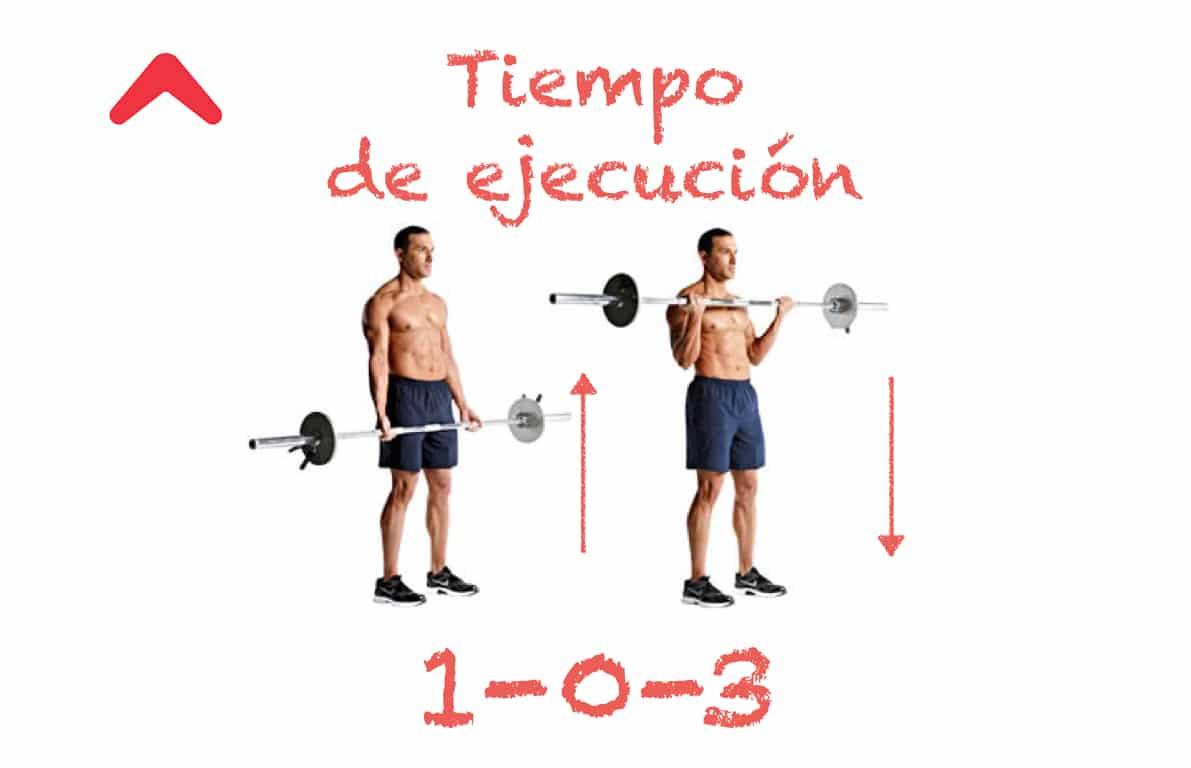 El ritmo también importa, un pequeño detalle para ganar musculatura.