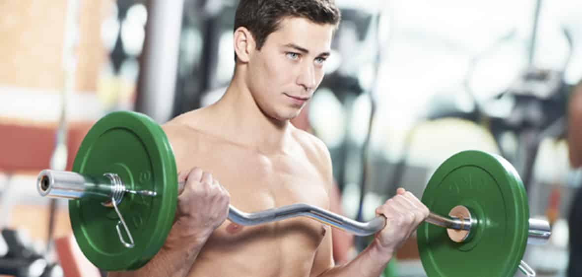 Rutinas para aumento de masa muscular y pérdida de grasa.