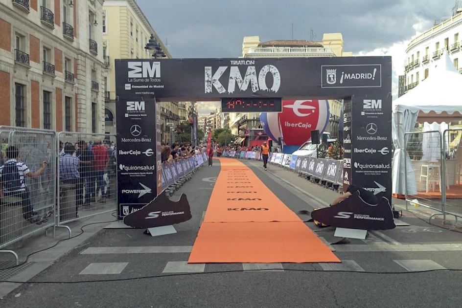 Altafit Avda. de América en el primer Ironman de Madrid