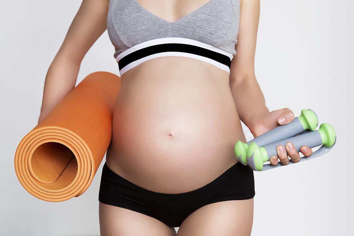 Beneficios de entrenar durante el embarazo