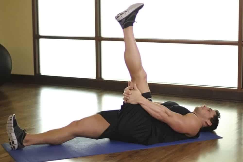 Estiramientos de pilates y yoga para el dolor de espalda.