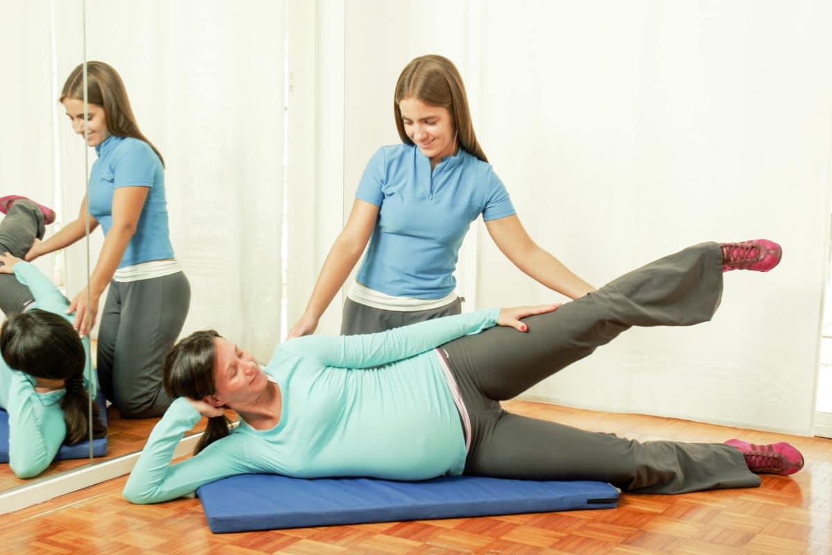 Mantenerse activa en el tercer trimestre de embarazo.