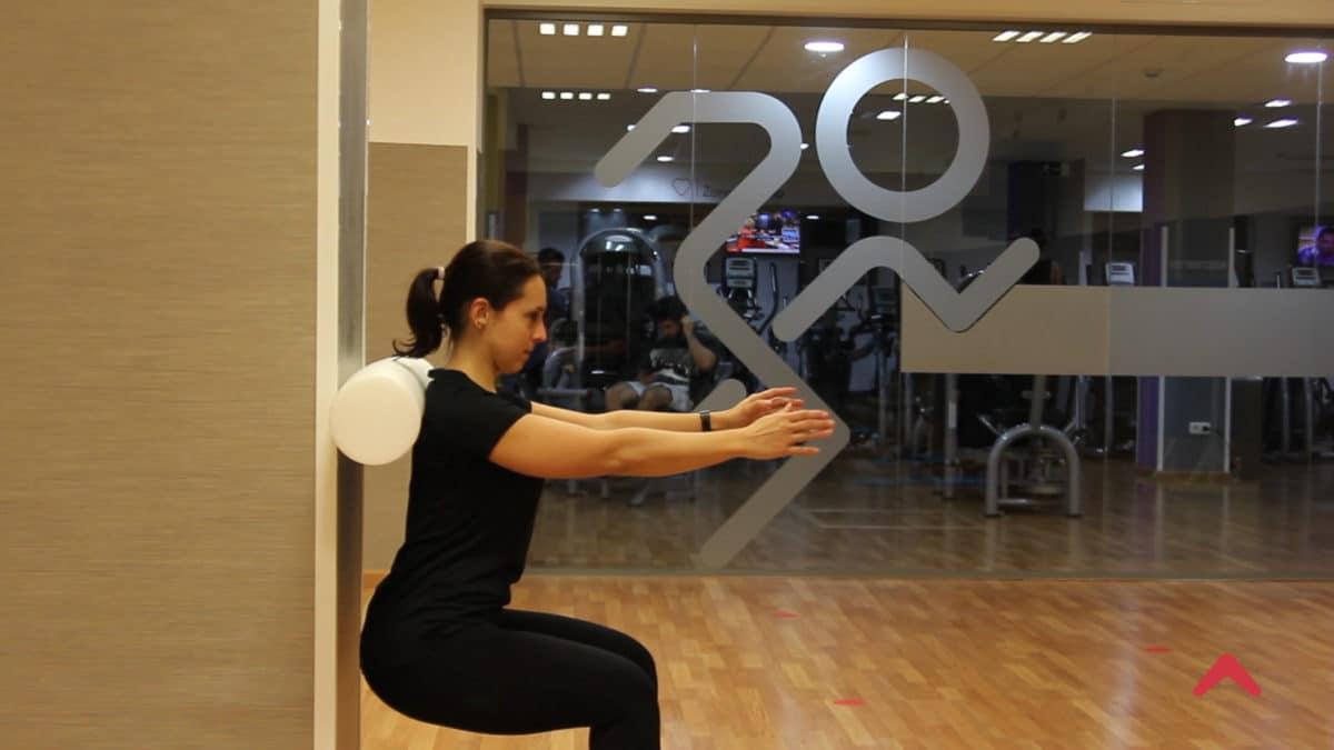 Relajación miofascial con foam roller