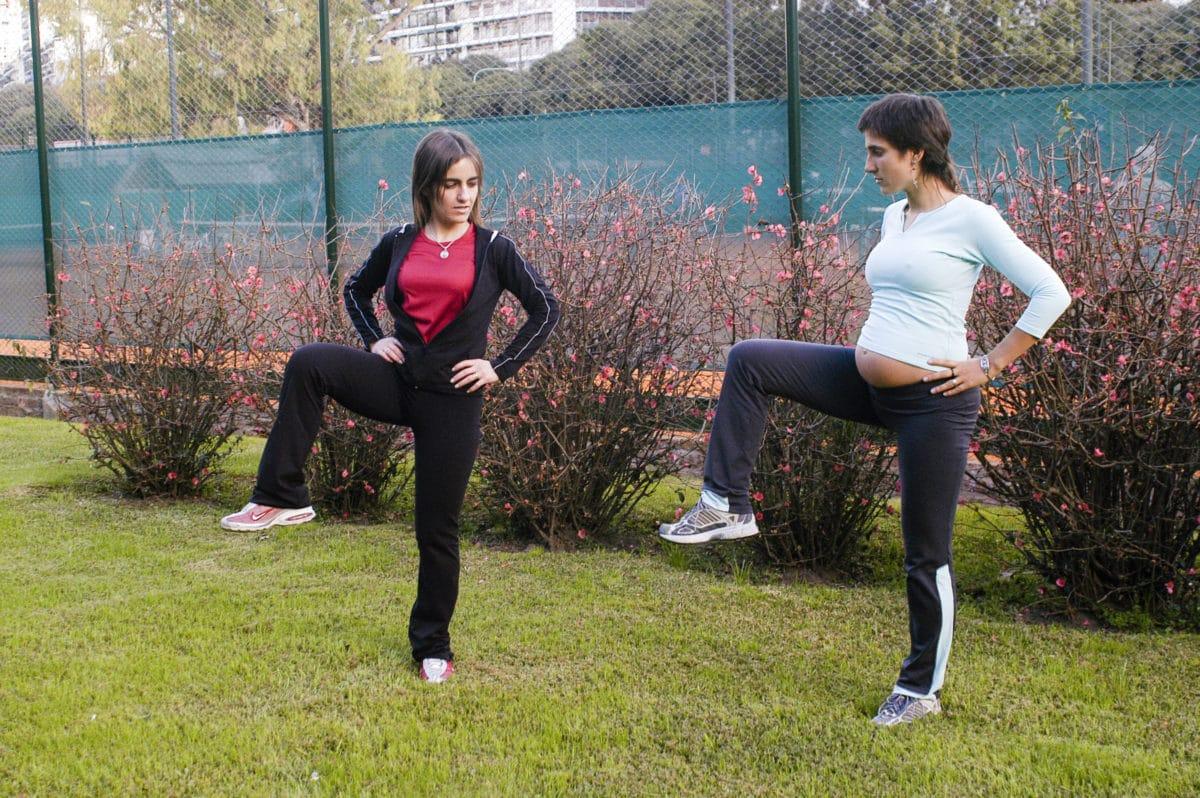 Hacer actividad física reduce el riesgo de diabetes gestacional.