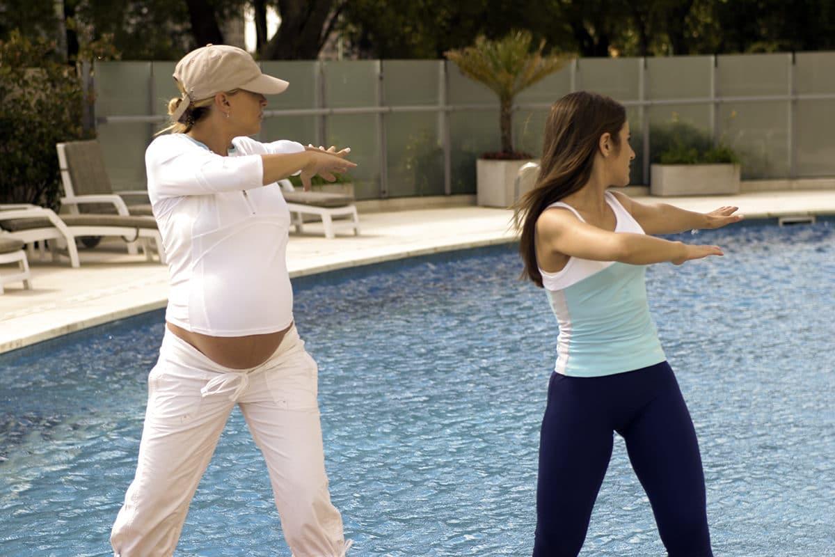 ¿Qué actividad física se recomienda  en el embarazo? Mamás activas.