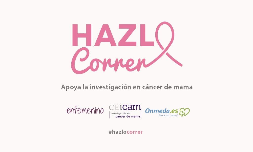 Altafit y Myst con el reto #HazloCorrer para la investigación en cáncer de mama.