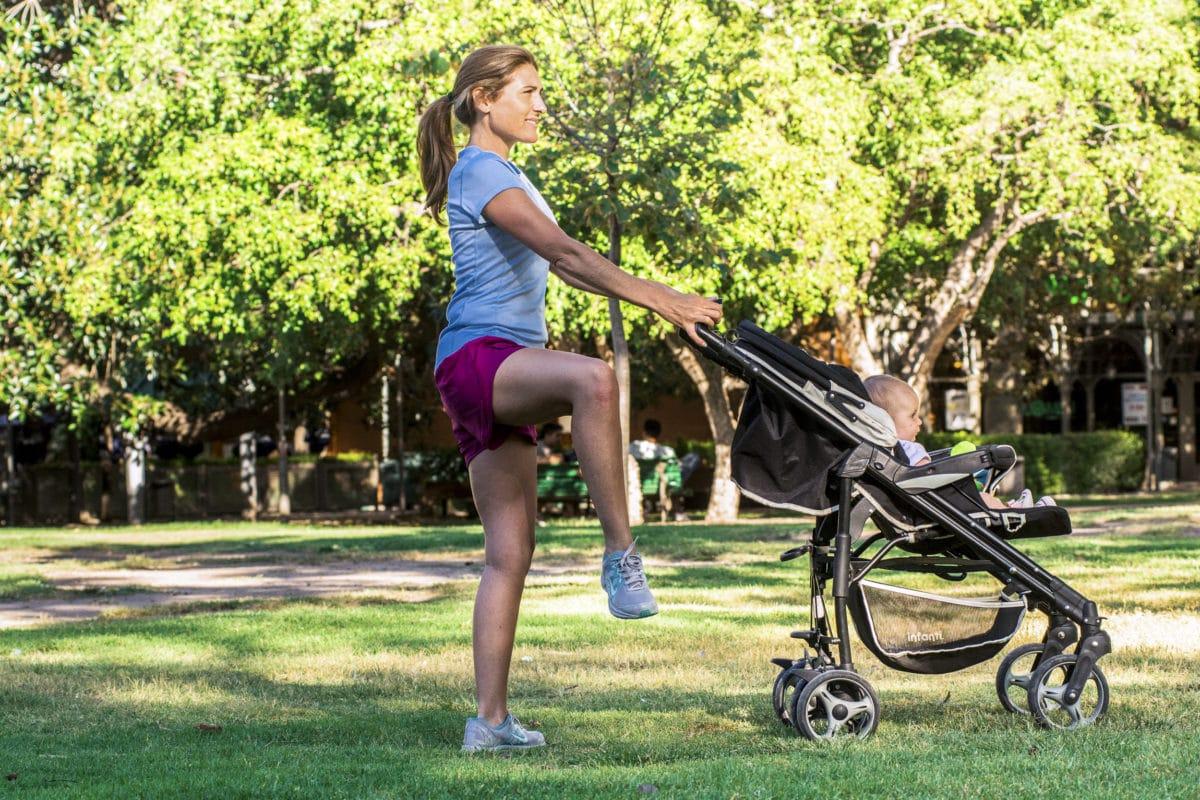 Salidas aeróbicas posparto para hacer gimnasia con tu bebé