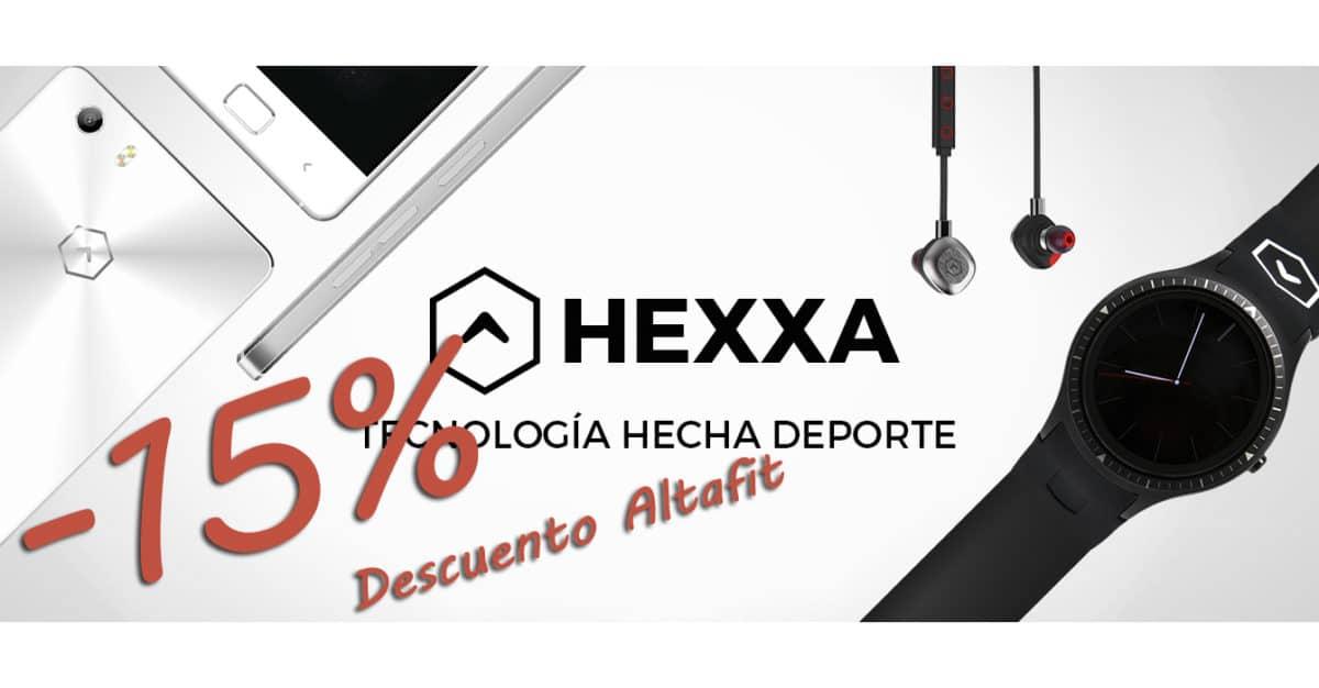 15 % de descuento en HEXXA para todos los altafiteros.