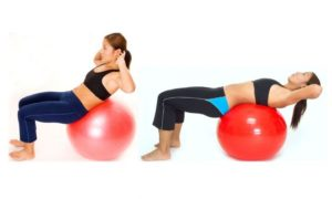 abdominal fitball 1