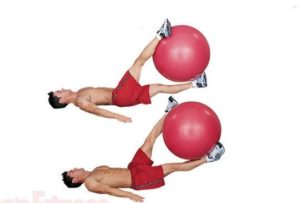 abdominal fitball 5