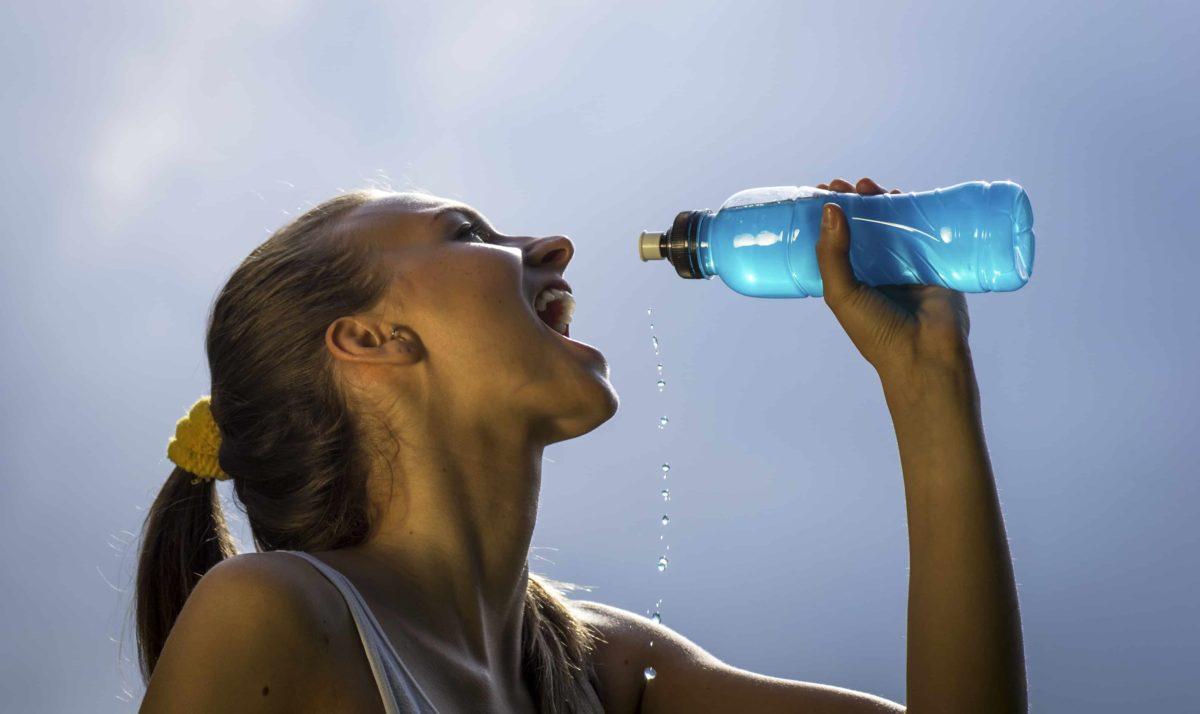Cuida la hidratación en tus entrenamientos.