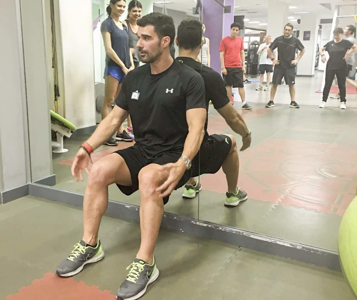 ejercicios para tonificar gimnasio