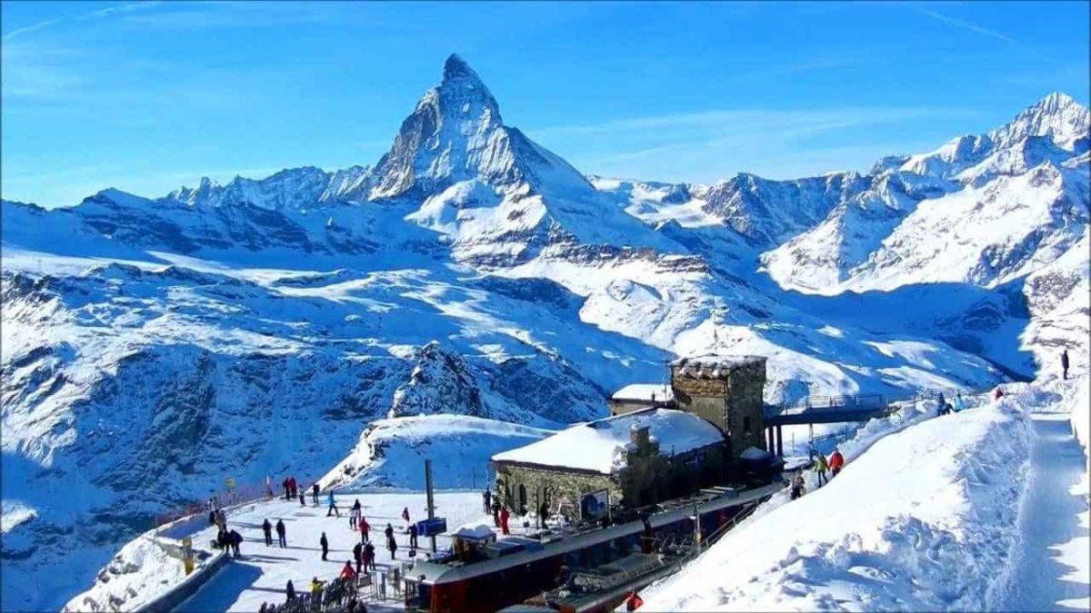 3 destinos de esquí en Europa.