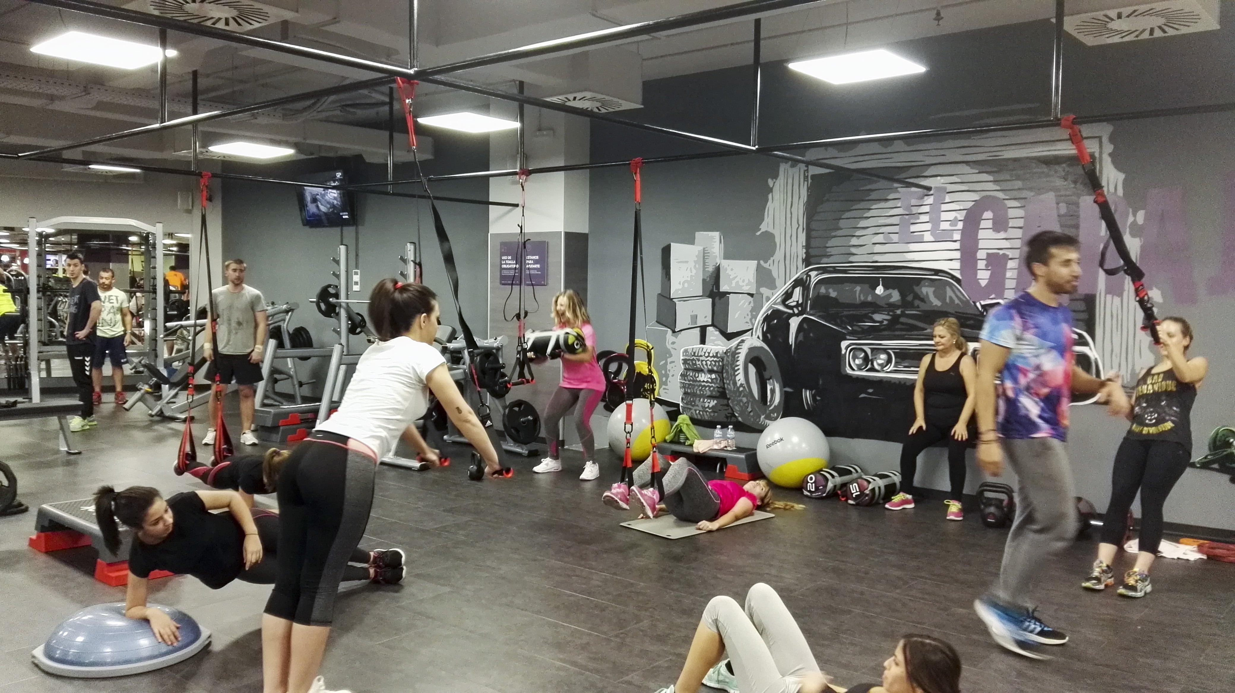 A mal tiempo buen entreno indoor ven al gimnasio for Entrenamiento gimnasio