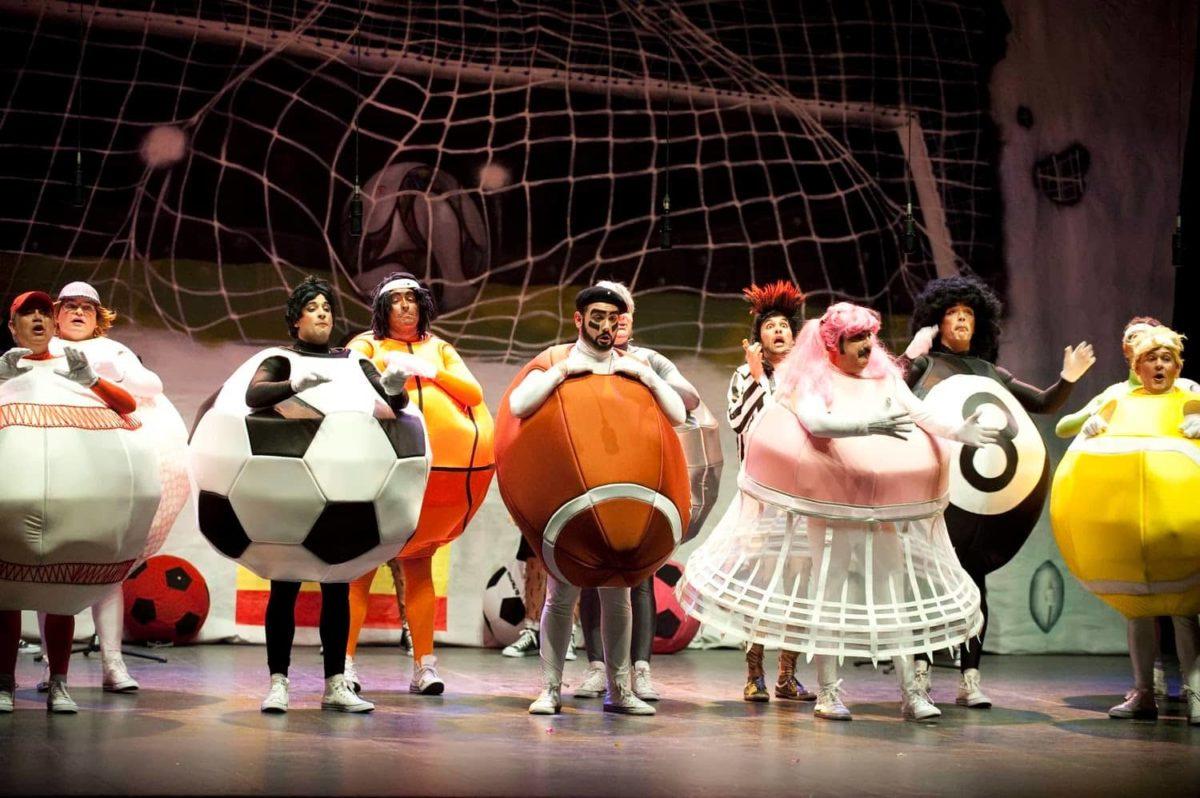 Los carnavales también miran al deporte.