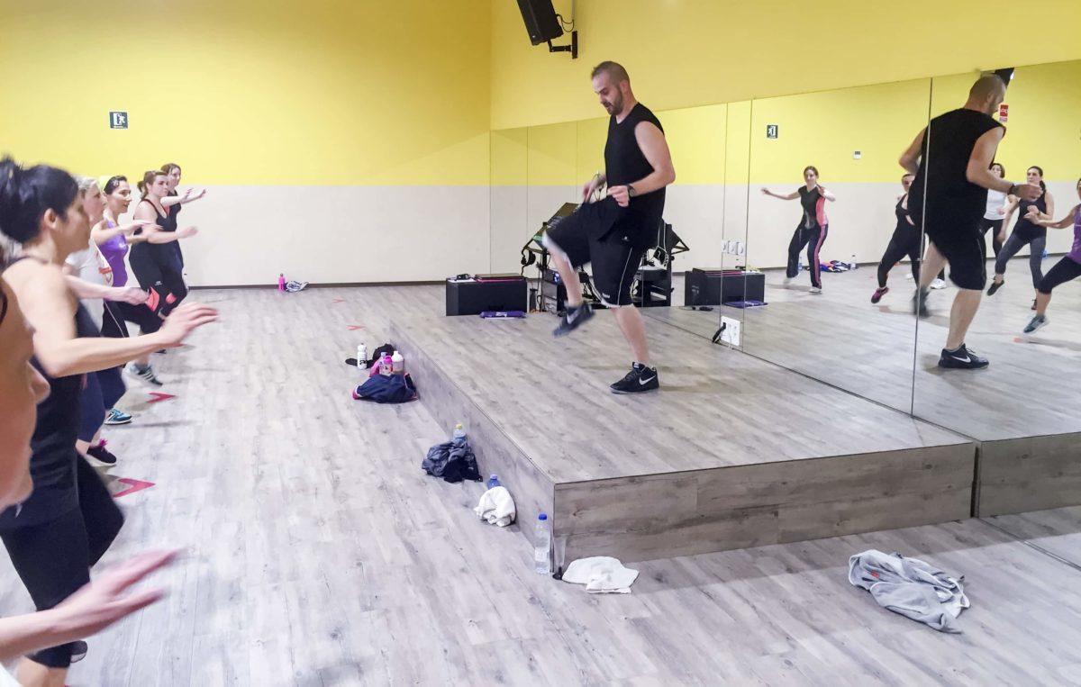 El fitness y la música.