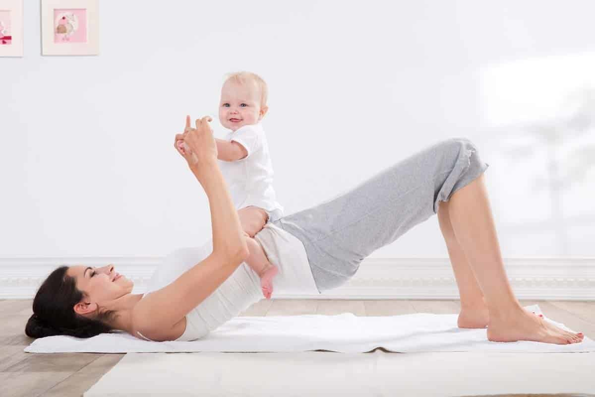 Recuperar la actividad física después del parto.