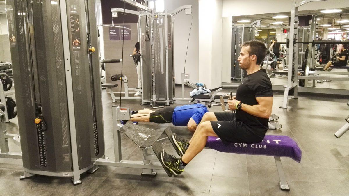 Tabla de ejercicios para maquina de musculacion