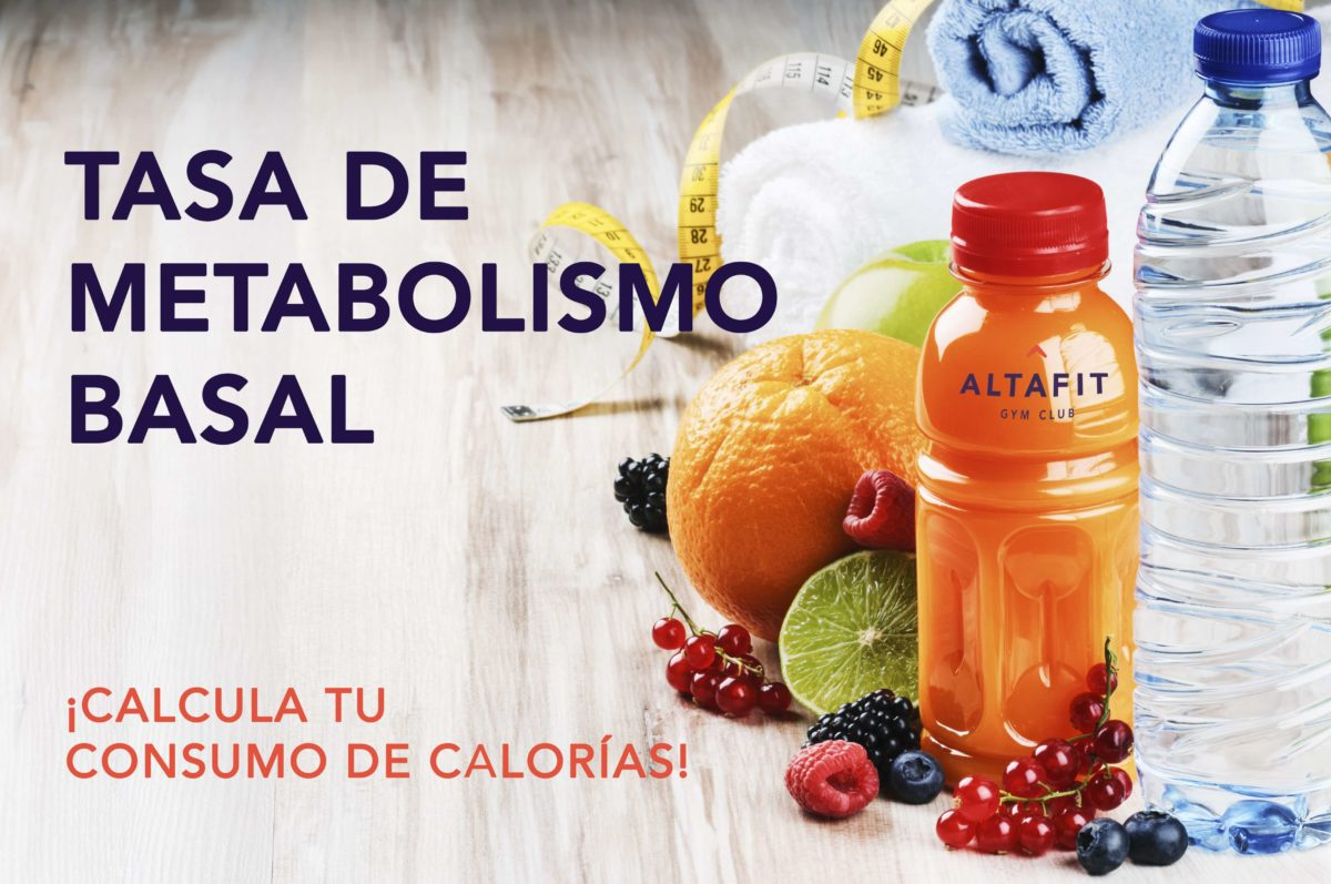 ¿Sabes cuál es tu metabolismo basal? ¡Calcula tu consumo de calorías!