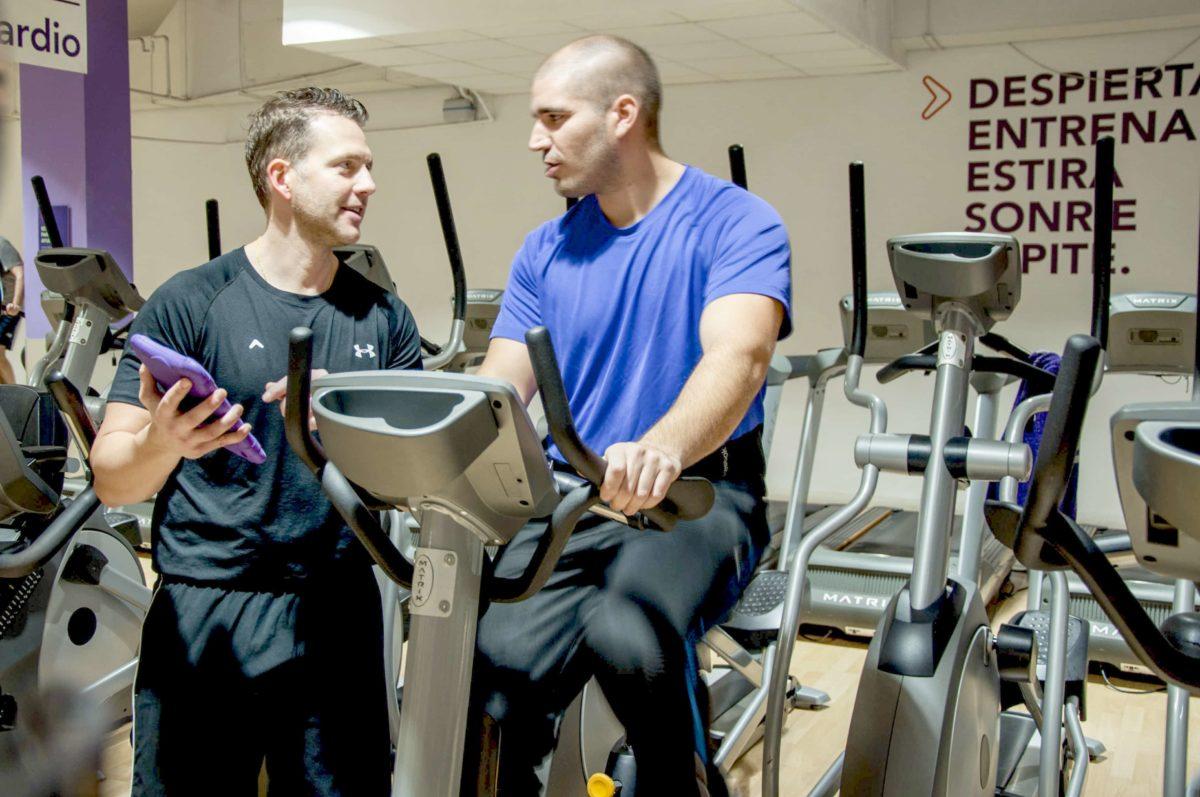 Entrenador personal. Da un giro a tus entrenamientos… y a tu vida.