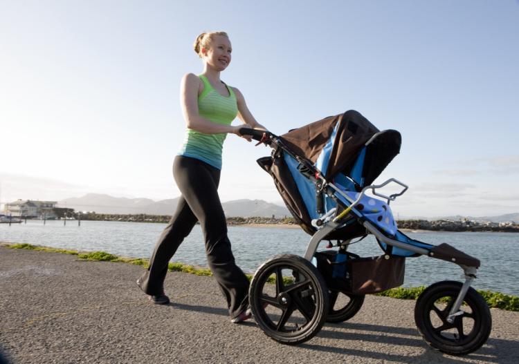 Nuevas mamás: Pasear y hacer fitness al mismo tiempo