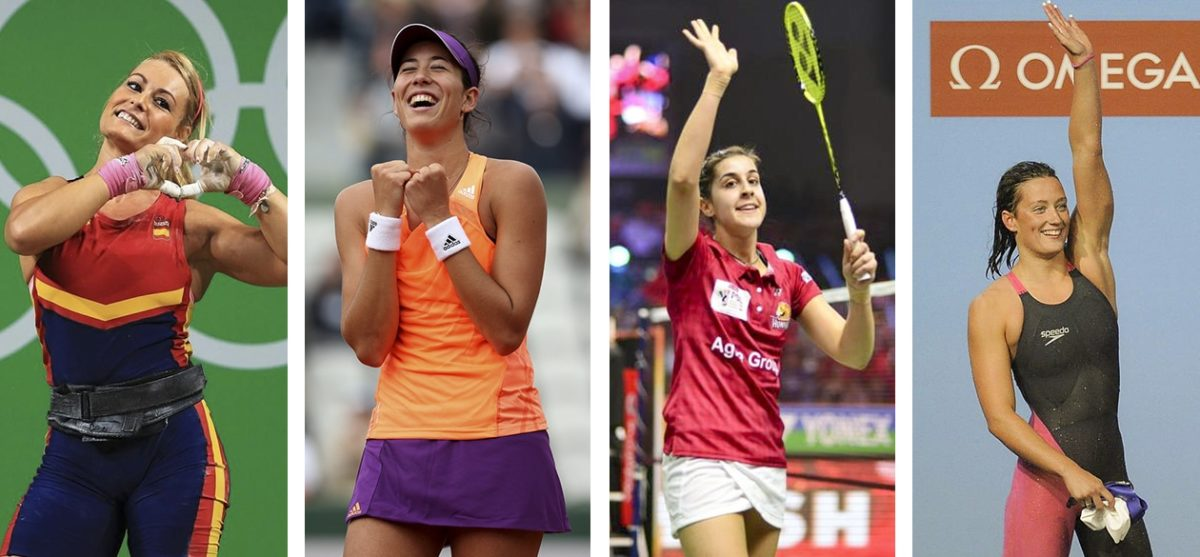 Mujeres y deportistas que inspiran en el Día de la Mujer