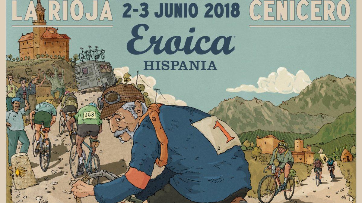 Vuelve el ciclismo clásico con la Eroica Hispania