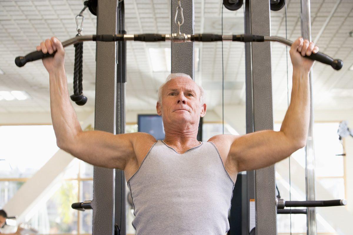 Entrenamiento contra la pérdida de masa muscular con la edad