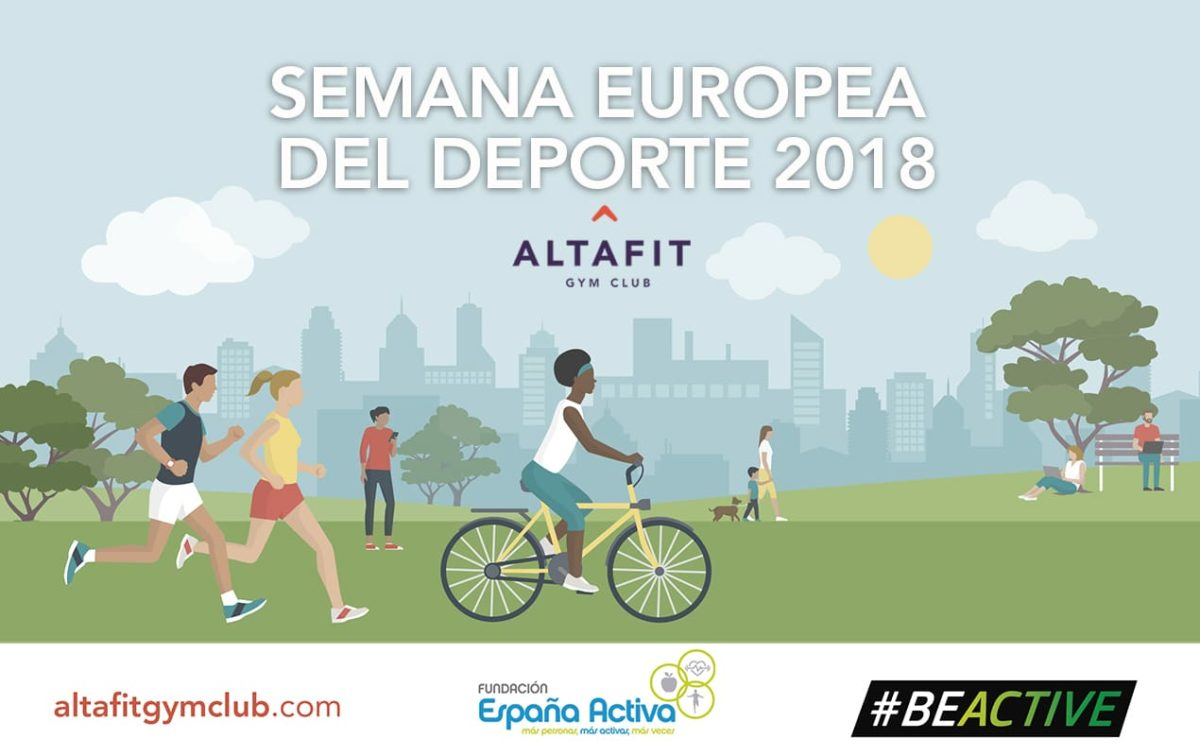 Altafit se activa con la Semana Europea del Deporte