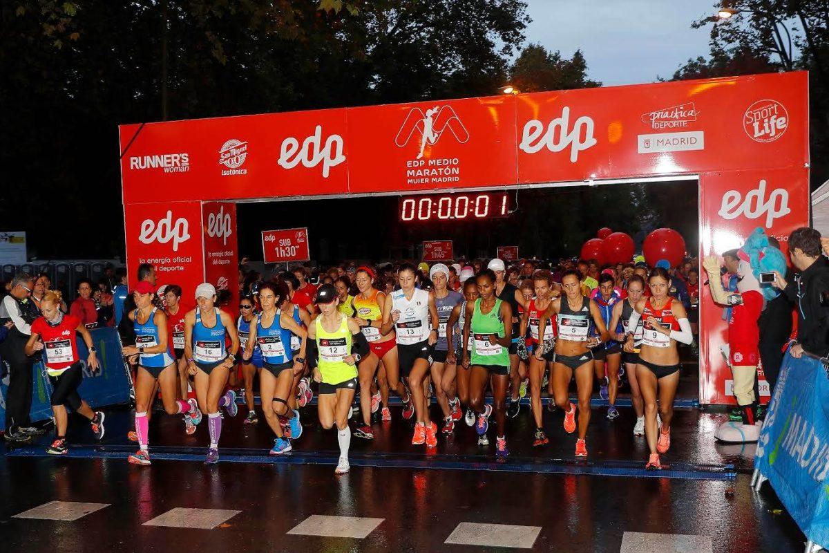 Medio maratón de la mujer en Madrid este fin de semana