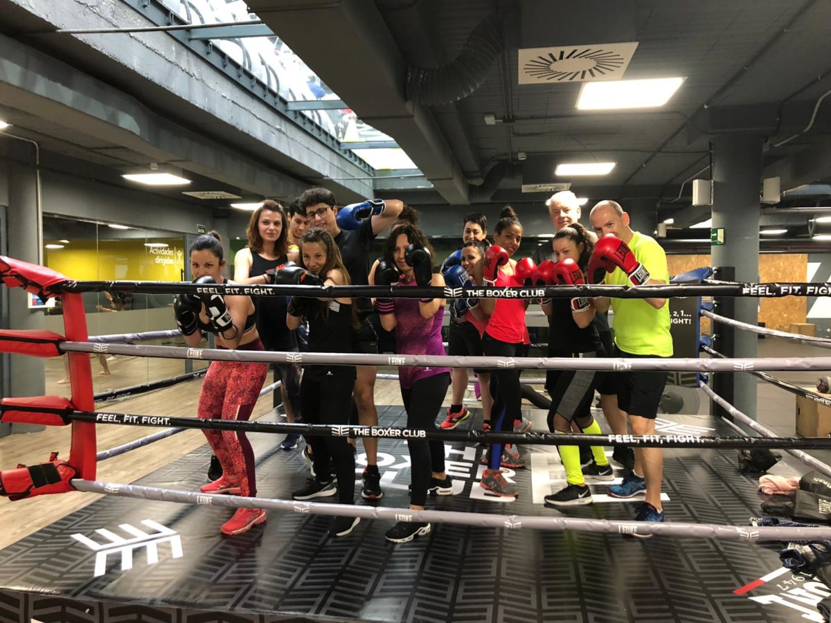 ¡Pásate a conocer nuestra nueva zona de boxeo!