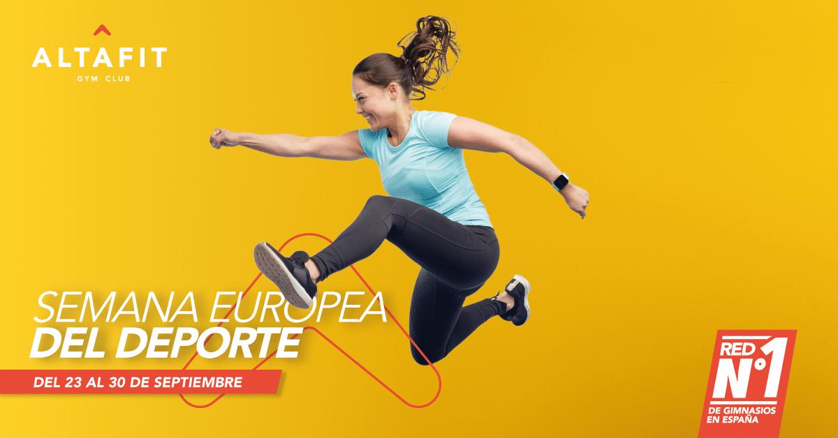Semana Europea del Deporte en Altafit