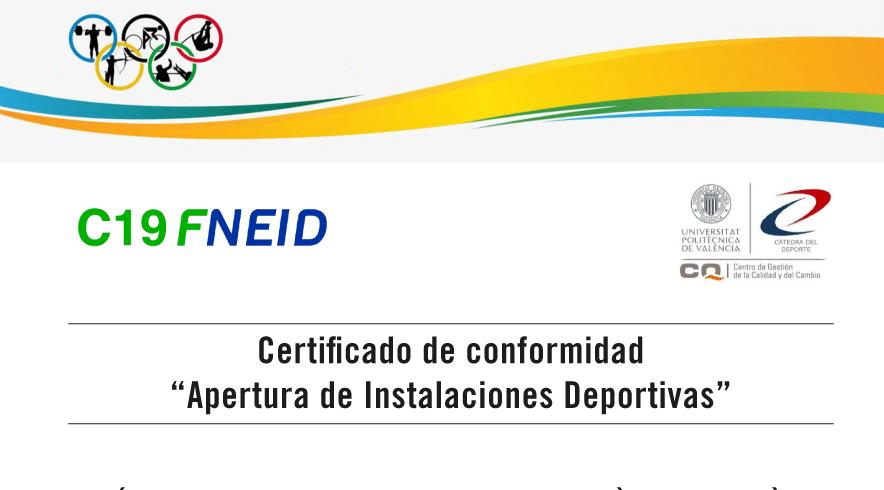 Altafit certifica la reapertura segura de sus gimnasios