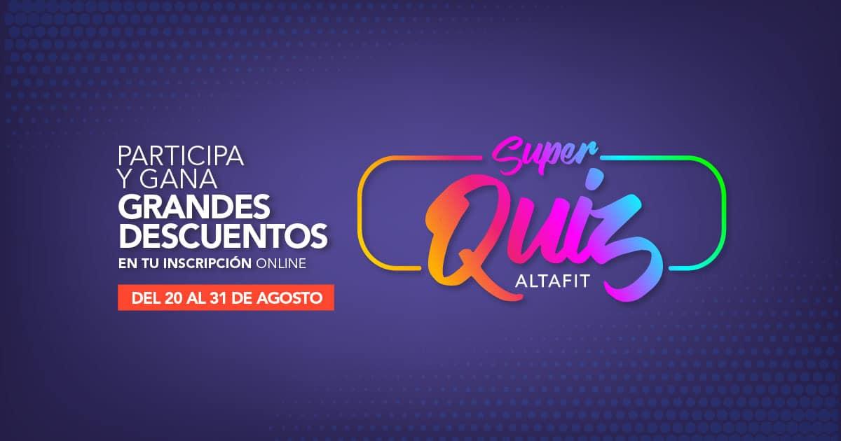 Super Quiz Altafit