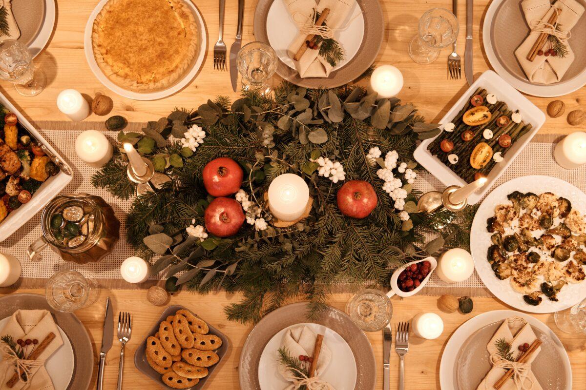 Menú saludable de Navidad